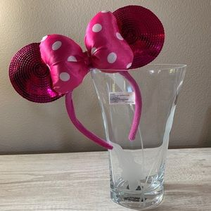 Minnie Mouse Pink/Polka Dot Ears